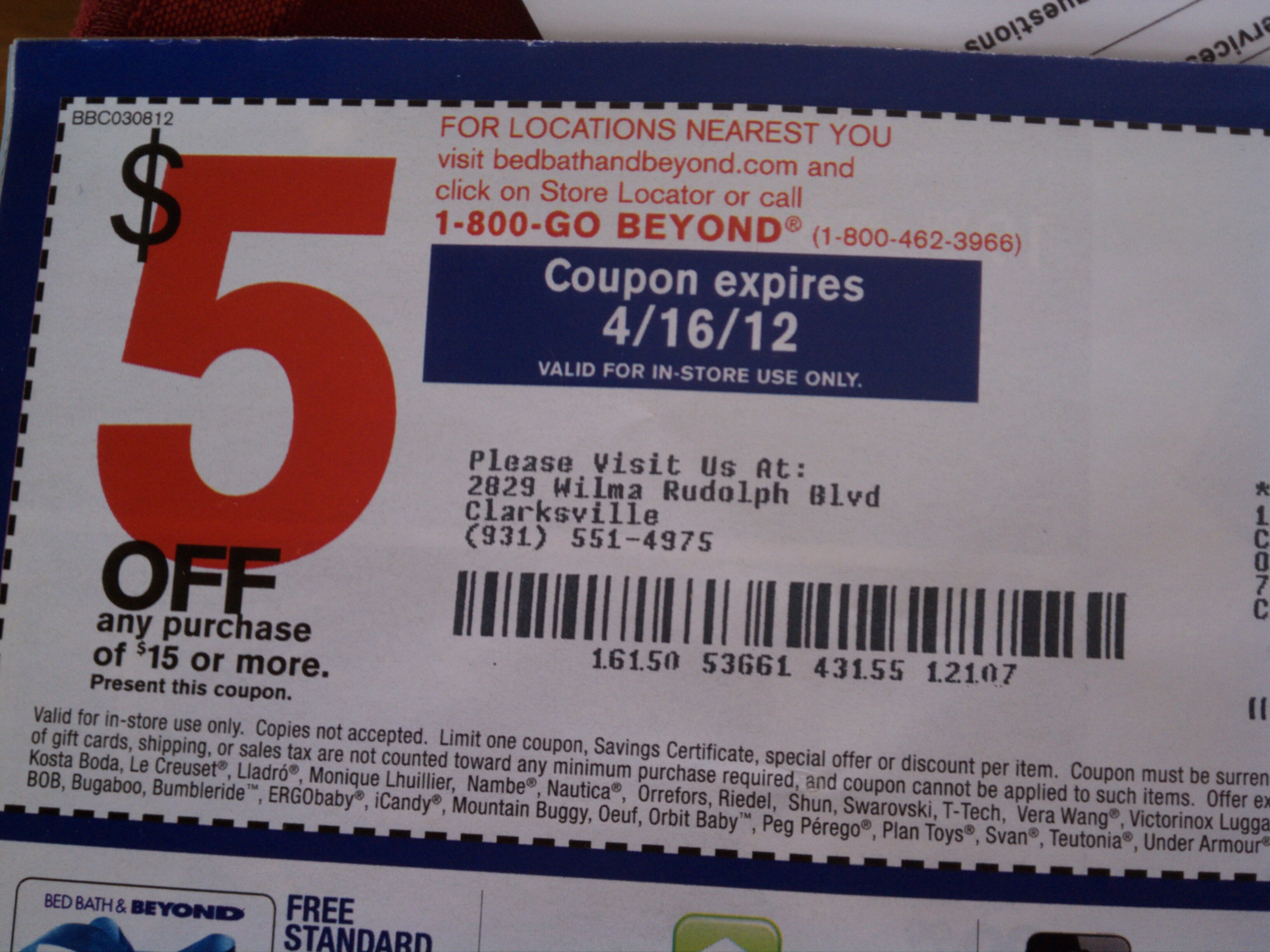 bed bath and beyond coupon 2012 5 15 bed bath amp beyond clarksville clippers 13145