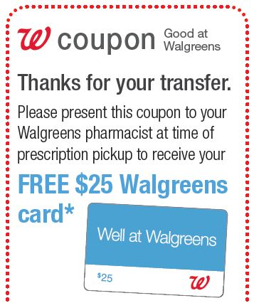Prescription drug transfer coupon cvs